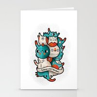 Embrace your weirdness Stationery Cards