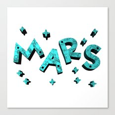 Stars And Mars Canvas Print
