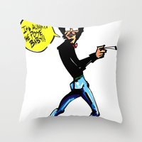 Director Throw Pillow