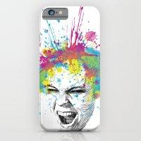 Colorful Scream iPhone 6 Slim Case