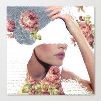 I Am Undone Tonight Canvas Print