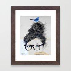 RIDDLE Framed Art Print