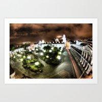 Plaza de la Independencia Art Print