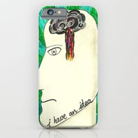iPhone & iPod Case featuring I have an idea by Villaraco