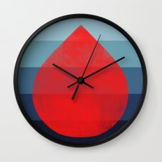flourish 6 Wall Clock