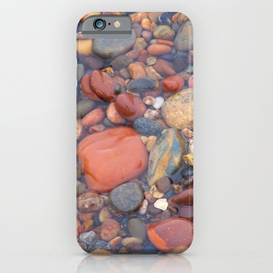 Beach Stones Along Lake Superior iPhone & iPod Case