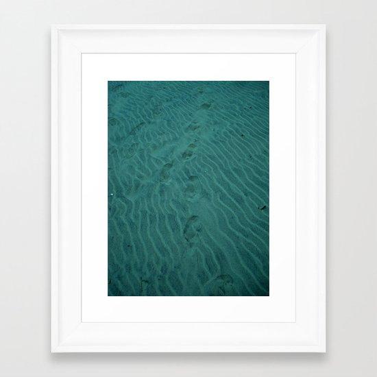 Deep Sea Trekking Framed Art Print