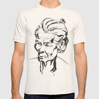 Old women Mens Fitted Tee Natural SMALL