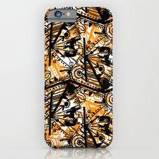Aztec Pattern Orange Slim Case iPhone 6s