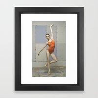 Contemporary Ballet Danc… Framed Art Print