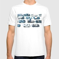 Its A Parking Lot Out There... Blue Mens Fitted Tee White SMALL