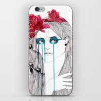 Painted Eyes iPhone & iPod Skin