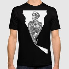 Queen of Carbon II Mens Fitted Tee Black SMALL