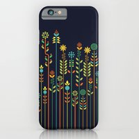 iPhone Cases featuring Overgrown flowers by Budi Kwan