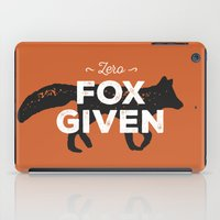 Zero Fox Given iPad Case