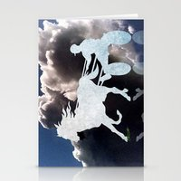 Chariots of Fire - Harness Racing Stationery Cards