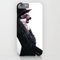 iPhone & iPod Case featuring Unbearable gentleman by Monsters Ate My Brain