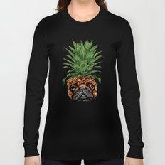 Pineapple Pug  Long Sleeve T-shirt