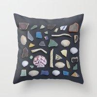Ocean Study No. 1 Throw Pillow