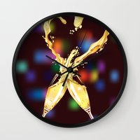 love glasses Wall Clock