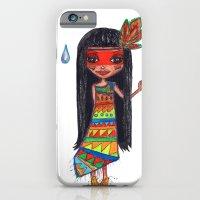 iPhone & iPod Case featuring A menina que chovia by Gabriela Von Gal