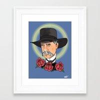 Virgil Earp Framed Art Print