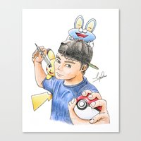 PokeArtist Canvas Print
