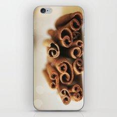 Cinnamon Sticks Bokeh iPhone & iPod Skin
