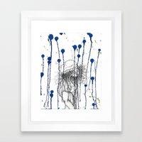 Rain Walker Framed Art Print