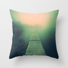 Drowning Echoes Throw Pillow