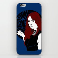 Come Along Pond iPhone & iPod Skin