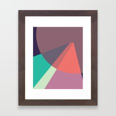 Cacho Shapes LXXXVII Framed Art Print