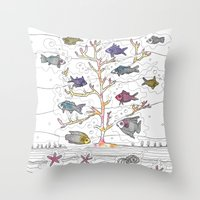 Coral Of Life (Underwate… Throw Pillow