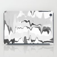 Marbled In Onyx iPad Case