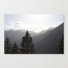 Hills of Tahoe Canvas Print