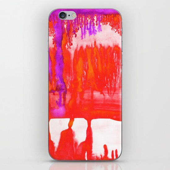 Dip Dye Tangelo iPhone & iPod Skin
