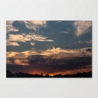 Lyon Sky  Canvas Print
