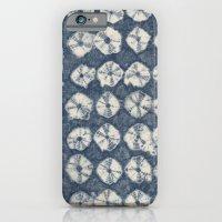 Indigo Spiderweb Shibori iPhone 6 Slim Case