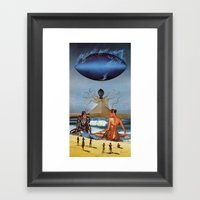 New Gods Framed Art Print