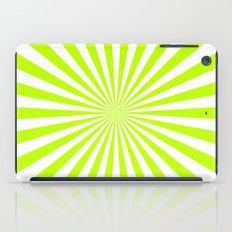 Starburst (Lime/White) iPad Case