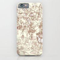 iPhone Cases featuring This is What We Call a Life Drawing by Joshua Kemble