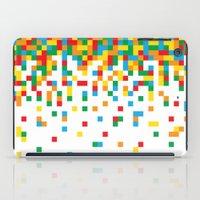 Pixel Chaos iPad Case