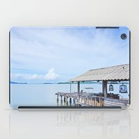 The docks of Koh Lanta iPad Case