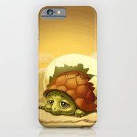 turtle iPhone & iPod Cases featuring turtle by Antracit