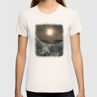 Hope In The Moon Womens Fitted Tee Natural SMALL