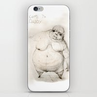 Come to daddy iPhone & iPod Skin