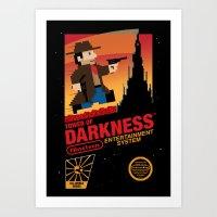 Tower Of Darkness Art Print