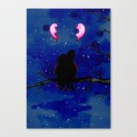 Two Broken Hearts  Canvas Print