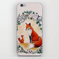Fox Season iPhone & iPod Skin