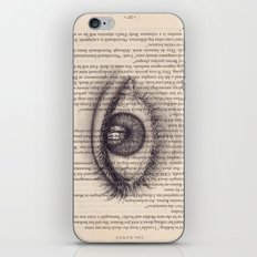 Eye in a Book iPhone & iPod Skin